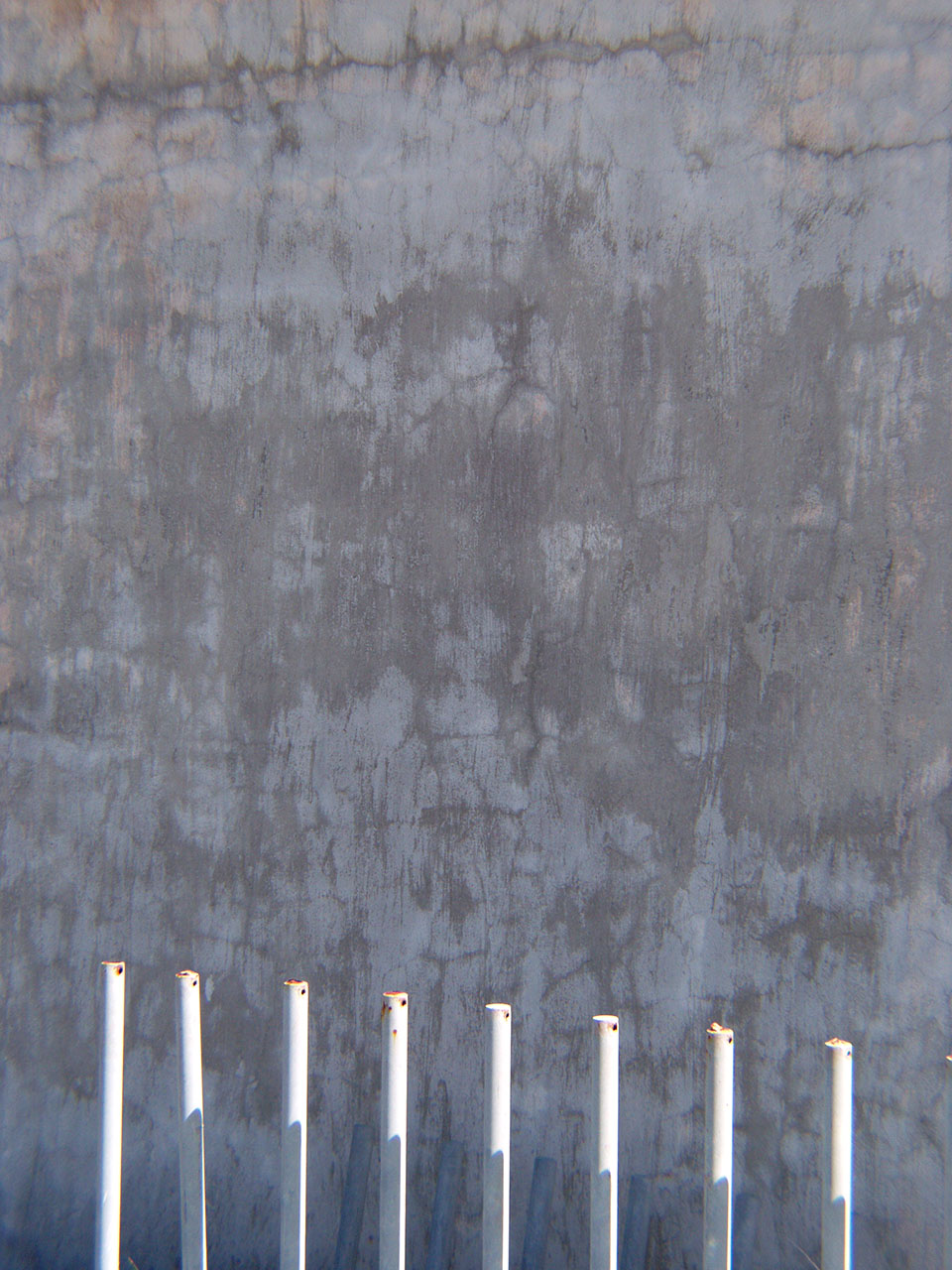 Wall and Poles