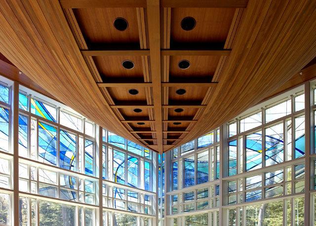 Interior of Wellesley College Chapel
