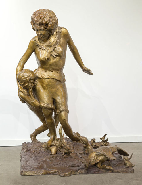 """Nancy"" Sculpture by John Pauplis"