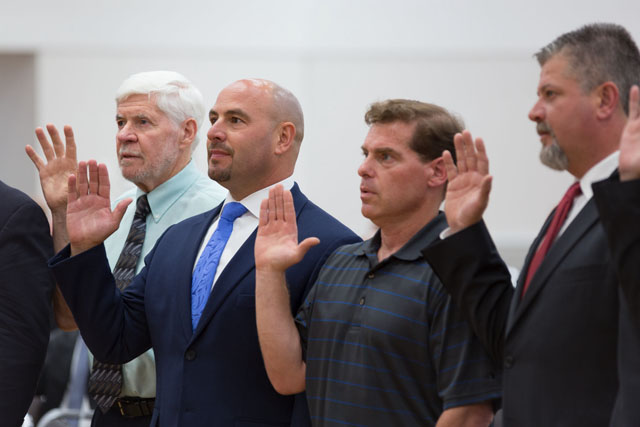 IBEW Local 103 Swearing-in Ceremony